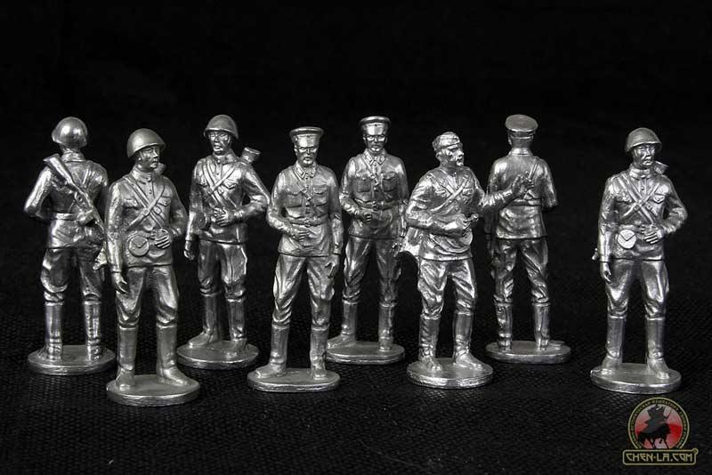 Литье солдатиков из олова в домашних условиях